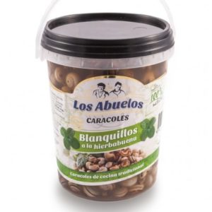 Caracoles blanquillos